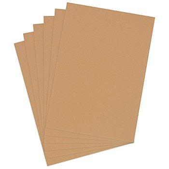 Kraftkarton-Blätter, 21 x 29,5 cm, 50 Blatt