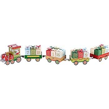 Folia Adventskalender 'Weihnachtszug'