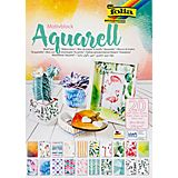 """Folia Papierblock """"Aquarell"""", 24 x 34 cm, 20 Blatt"""