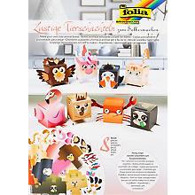 Folia Boîtes animaux amusantes, 7 x 7 cm, 8 pièces