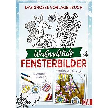 Vorlagenbuch 'Weihnachtliche Fensterbilder'