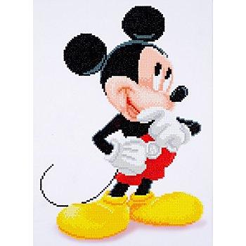 Disney Diamantenstickerei-Set 'Mickey Mouse', 31 x 43 cm