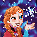 "Disney Diamantstickerei-Set ""Anna"", 22 x 22 cm"