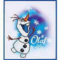 "Disney Kit broderie diamant ""Olaf"", 37 x 42 cm"