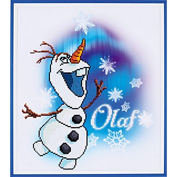 Disney Kit broderie diamant 'Olaf', 37 x 42 cm