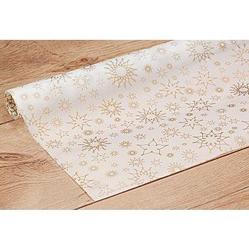 Transparentpapier 'Sterne gold', 50 x 70 cm