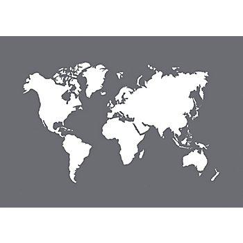 Rayher Siebdruck-Schablone 'Weltkarte'