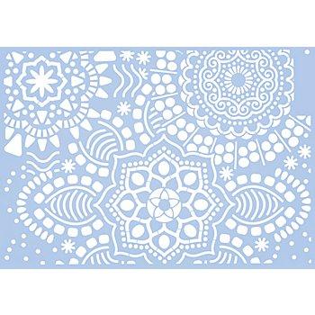 Schablone 'Mandala', 21 x 29,7 cm