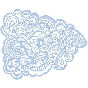 Maskier-Schablone 'Mandala'