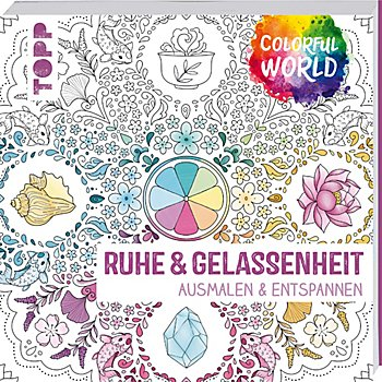 Buch 'Ruhe & Gelassenheit - Ausmalen & Entspannen'
