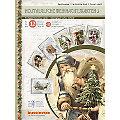 """3D-Bastelmappe """" Nostalgische Weihnachtskarten"""", für 12 Karten"""