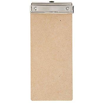 MDF-Klemmbrett, 26,5 x 11,5 cm