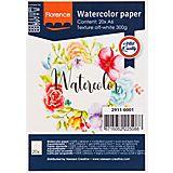 "Aquarellpapier-Block ""Florence"", DIN A6, 300 g/m²"
