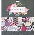 "Scrapbooking-Papier ""Full Bloom"", 30,5 x 30,5 cm, 50 Blatt"