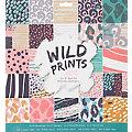 "Scrapbooking-Papier ""Wild Prints"", 30,5 x 30,5 cm, 50 Blatt"