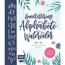 Buch 'Handlettering Alphabete Watercolor – Feine Buchstaben mit Pinsel und Brush Pen'