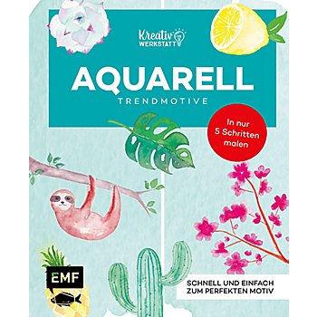 Buch 'Aquarell – Trendmotive'