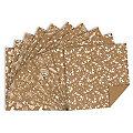 """Ursus Papier origami en papier kraft """"Noël"""", marron/blanc, 15 x 15 cm, 100 feuilles"""