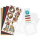 """Fadengrafik-Kartenset """"Weihnachten Nostalgie"""