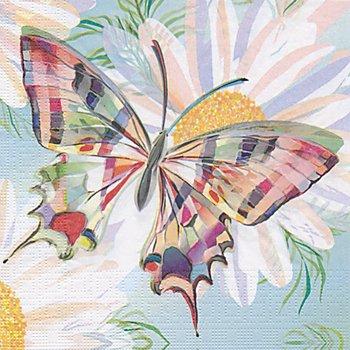 Papierservietten 'Schmetterling bunt', 33 x 33 cm, 20 Stück