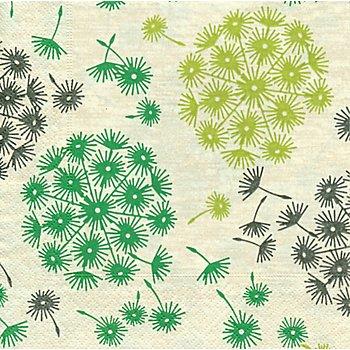 Papierservietten 'Pusteblume', 33 x 33 cm, 20 Stück