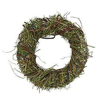 Heu-Reben-Kranz, grün, 20 cm Ø