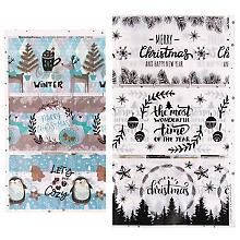 Set de banderoles thermo-rétractables 'hiver', 6 pièces