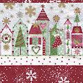 """Papierserviette """"Rote Häuser"""", 33 x 33 cm, 20 Stück"""