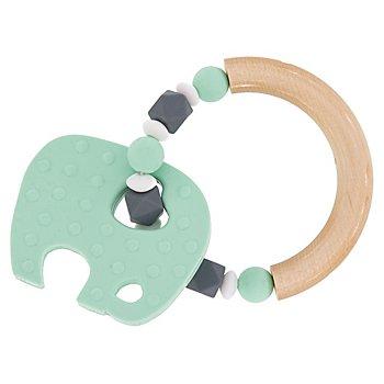 Kit créatif anneau de dentition 'éléphant', vert menthe