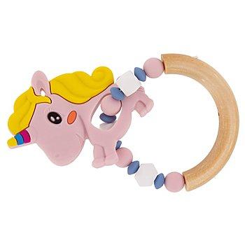 Kit créatif anneau de dentition 'licorne', rose
