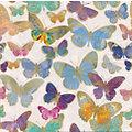 """Serviettes en papier """"papillons dorés"""", 33 x 33 cm, 20 pcs."""