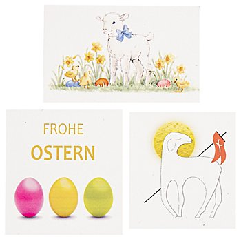 Wachsmotiveset Ostern traditionell