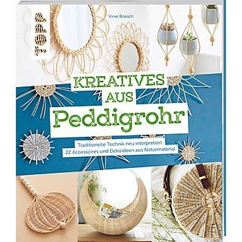 Buch 'Kreatives aus Peddigrohr – Traditionelle Technik neu interpretiert'