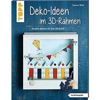 Buch 'Deko-Ideen im 3D-Rahmen – Kreative Modelle für jede Jahreszeit'
