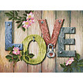 "Kit broderie diamant ""Love"", 40 x 30 cm"