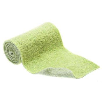 Wollband, zweifarbig, grau-grün, 15 cm, 1 m