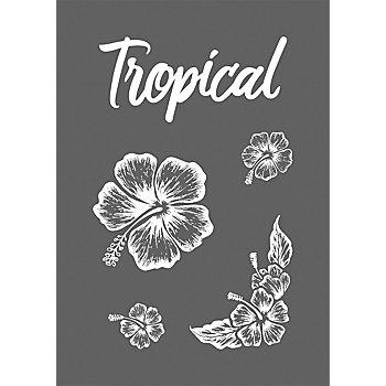 Rayher Siebdruck-Schablone 'Tropical'