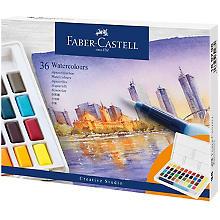 Faber-Castell Peintures aquarelle, 36 couleurs