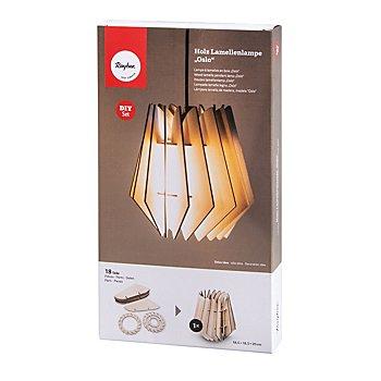 Lampe en lamelles de bois 'Oslo'