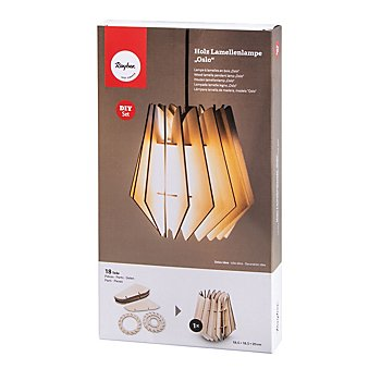 Holz-Lamellenlampe 'Oslo'