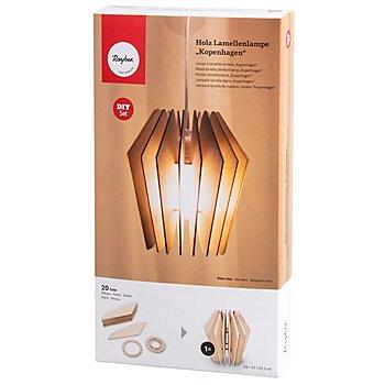 Holz-Lamellenlampe 'Kopenhagen'
