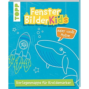 Vorlagenmappe 'Fensterbilder Kids – Super coole Motive'