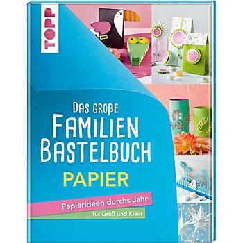 Buch 'Das große Familienbastelbuch Papier – Papierideen durchs Jahr für Groß und Klein'