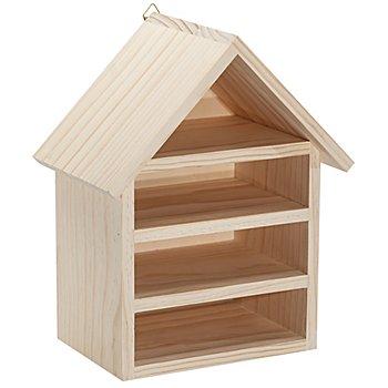 Haus 'Insektenhotel' aus Holz, 30 cm