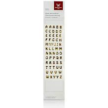 Wachsbuchstaben, gold