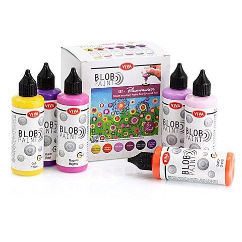 "Image of Blob Paint Set ""Blumenwiese"""
