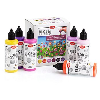 Blob Paint Set 'Blumenwiese'