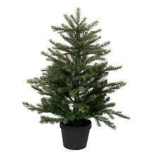 Hochwertiger Tannenbaum mit Beleuchtung, 90 cm