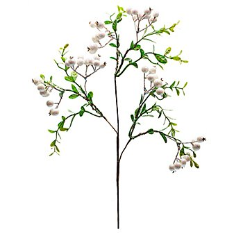 Glitter-Beerenblütenzweig, 45 cm