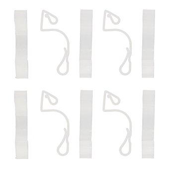 Dachrinnenhalterung, 6,5 cm, 10 Stück
